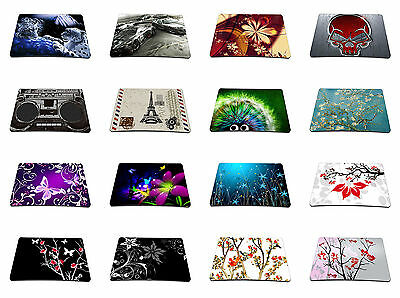 Soft Neoprene Gaming Mouse Pad 2 Laptop Computer PC Optical