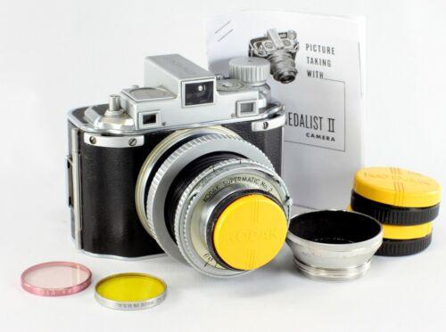Kodak Medalist I, Ektar 3.5/100 mm - converted to 120 film