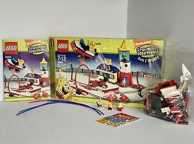 LEGO 4982 SpongeBob Mrs. Puff's Boating School 100% Complete w Box *NEW STICKERS