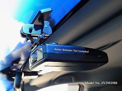 NEW Permanent Windshield Mount For The Escort 8500 Series Radar Detector
