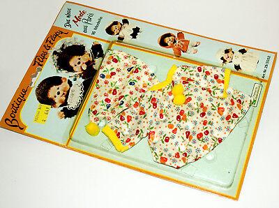 Monchichi Moncichi Monchhichi Mon Chichi Kuscheläffchen Kleider Set 70er OVP