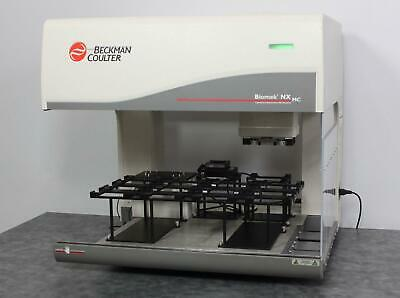 Beckman Coulter Biomek Nx Mc 989402 Automated Liquid Handling Workstation