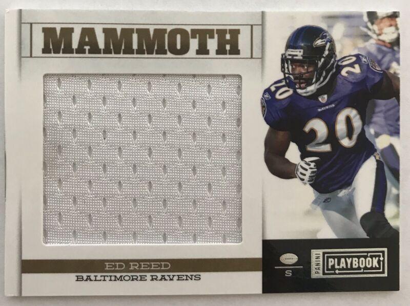 2019 Panini Prizm #274 Ed Reed Baltimore Ravens Football Card