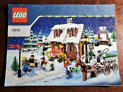 LEGO 10216 Creator Winter VillageBakeryInstructions ONLY No Bricks or Parts