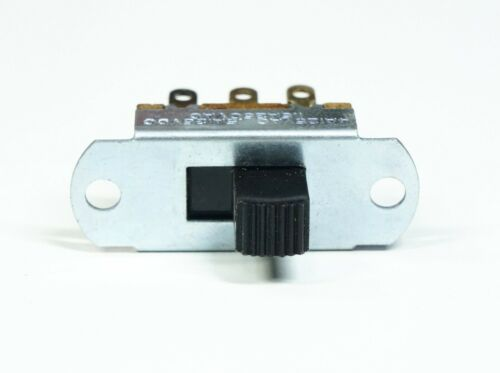 UID Slide Switch DPDT 4 Amp 1-1/8 inch Hole Spacing Solder Terminals