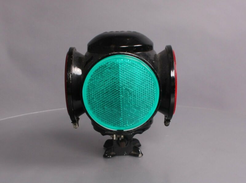 Adlake Vintage Reflex Railroad Switch Lamp