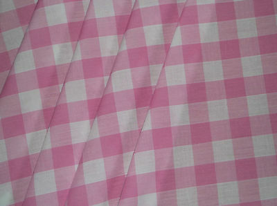 Pink Check Gingham VW CAMPER VAN Curtains T2 T4 T5 T25 Custom Made *Lined*   for sale  Shipping to Ireland