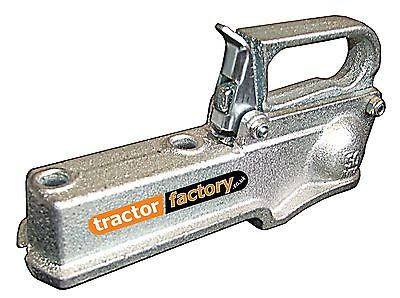 HEAVY DUTY CAST STEEL 50MM TRAILER HITCH COUPLING - 750KG (E APPROVED)
