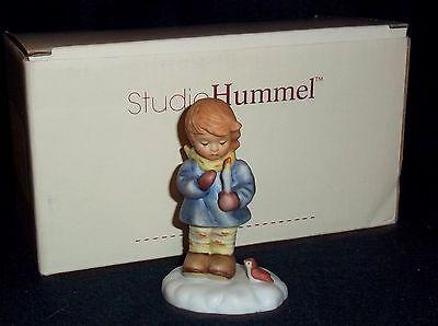 "Goebel Berta Hummel Figurine ""The Glow of a Candle"" BH 198/P"