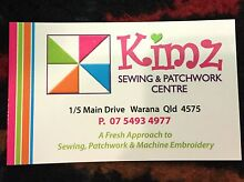 A Fresh Approach to Sewing Patchwork & Machine Embroidery Warana Maroochydore Area Preview