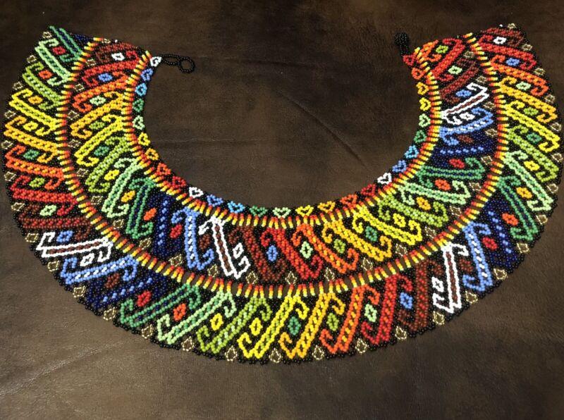 Huichol Beaded Necklace