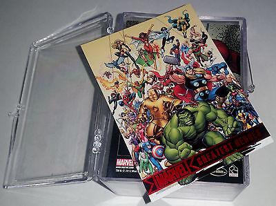 2012 Marvel Greatest Heroes Complete Base Set 1-81 !