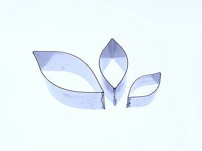 Periwinkle leaf cutter set of 3  - Valley Cutter Company- *RUST RESISTANT*