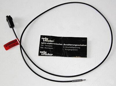 Optischer Annäherungsschalter Glasfaser, Sensor Durchmesser < 1mm
