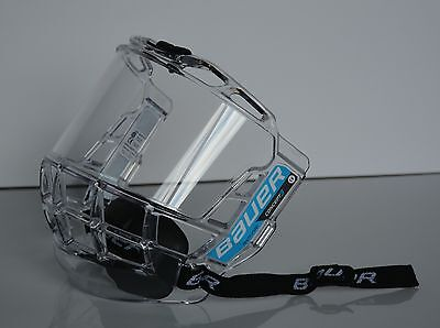 Bauer Concept III Full Hockey Face Shield Senior