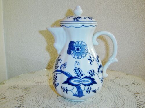 Blue Danube 8 1/2 inch Coffee Pot