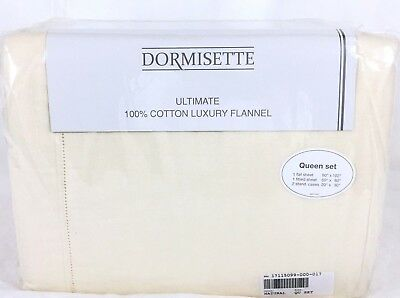 THE BEST! Dormisette Thick German Flannel Sheet Set Queen,King or Cal Kg (Best Cal King Flannel Sheets)