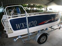 2013 WEBSTER TWINFISHER 4.3 with 40hp Evinrude Etec & Minn Kota Wurtulla Maroochydore Area Preview