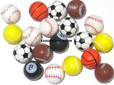 Sports High Bounce Balls (20 Per Order) 25mm (Sports Balls)