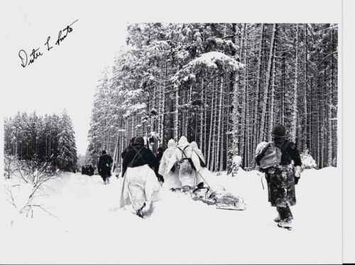 DUTEE SMITH 26TH INFANTRY DIVISION BATTLE OF THE BULGE VET RARE SIGNED PHOTO
