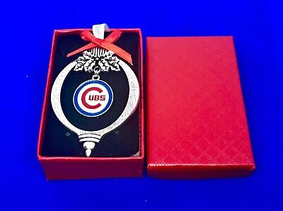 chicago cubs christmas ornament tree gift baseball holiday stocking stuffer NEW Chicago Cubs Christmas Stocking