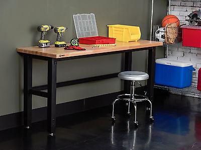 Trintiy Tls-7202 72 X 19 Wood Top Work Table