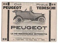 Pubblicità Epoca 1914 Peugeot Auto Car Vintage Advert Werbung Reklame Publicitè - peugeot - ebay.it