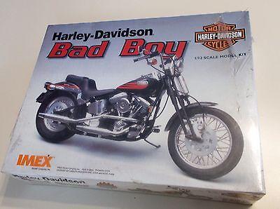 Harley Davidson Bad Boy 1/12 scale model kit
