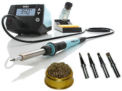 Weller We1010na We1010 Digital Soldering Station Tips Eta Etb Etc Etd Cleaner