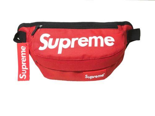 Supreme Fanny Pack Waist Bag Shoulder bag Messenger Crossbody bag Unisex