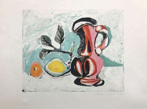 "Marina Pablo Picasso Estate ""nature Morte Au Pichet Rose"" | Hand Signed Print"