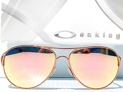 NEW* Oakley Caveat POLARIZED Rose Gold 60mm Aviator Womens Sunglass (Oakley Polarized Aviator Sunglasses)