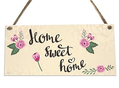 Home Sweet Home House Quote Wooden Novelty Plaque Sign Gift fcp36
