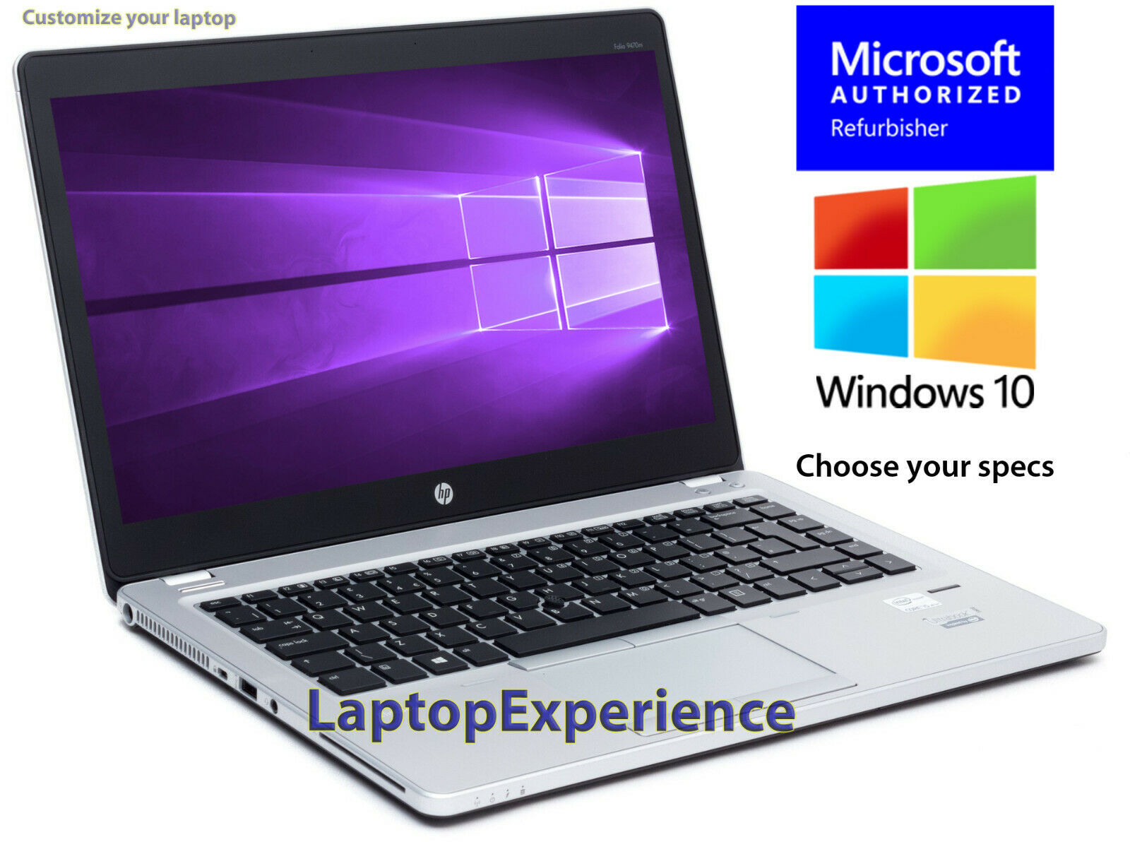 Laptop Windows - HP LAPTOP ELITEBOOK 9470M CORE i7 16GB 480GB SSD HD WINDOWS 10 PRO WiFi NOTEBOOK