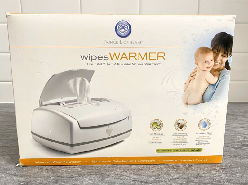 Prince Lionheart Baby Wipes Warmer Anti-Microbial 9002M