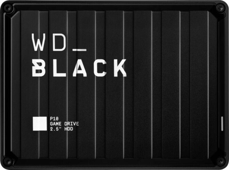 WD - WD_BLACK P10 5TB Game Drive for PlayStation External USB 3.2 Gen 1 Porta...
