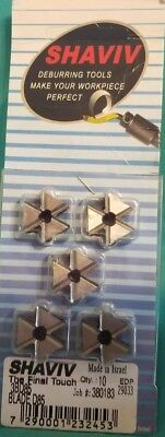 10 Shaviv Deburring Tool Blade D85 3bd85 Sheet Metal 29033