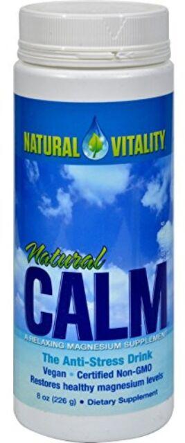 Natural Vitality Calm - Superior Magnesium Powder The Anti Stress Drink 8 oz.