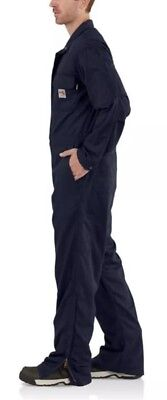 CARHARTT FR Flame Resistant Deluxe Coverall Cat 2 NFPA 70E 2112 Size 2XL Short Flame Resistant Coverall Deluxe