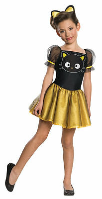 Hello Kitty Costume For Girls (Hello Kitty Chococat Costume for Girls size Medium New by Rubies)