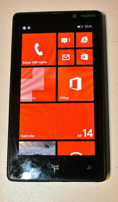 Używany, Nokia  Lumia 820 - 8GB - Schwarz (Vodafone) Smartphone Ersatzgerät ohne AKKU WoW na sprzedaż  Wysyłka do Poland