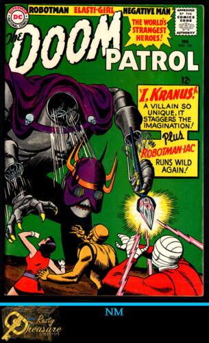 The DOOM PATROL #101 NM DC KEY SILVER AGE (1966) KRANUS!