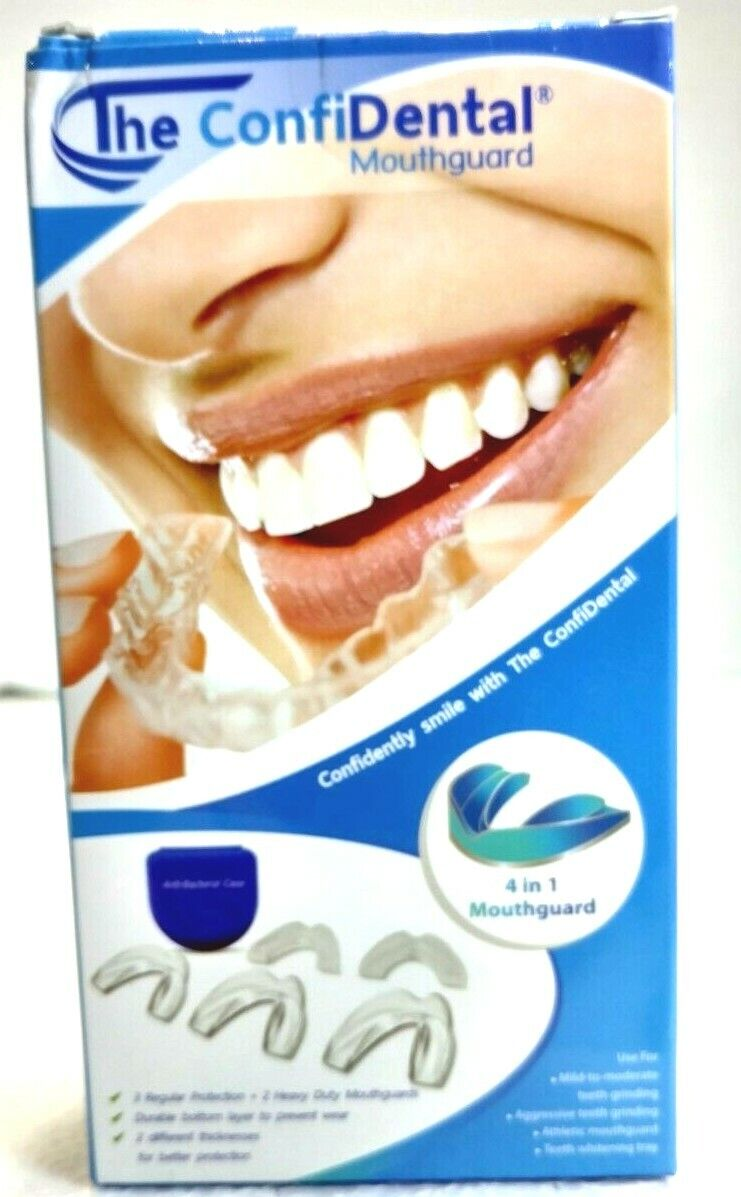 The ConfiDental, Moldable Mouth Guard for Teeth Grinding Cle