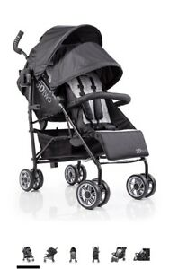 Summer Infant 3Dtwo Double Convenience Stroller - 190!!!