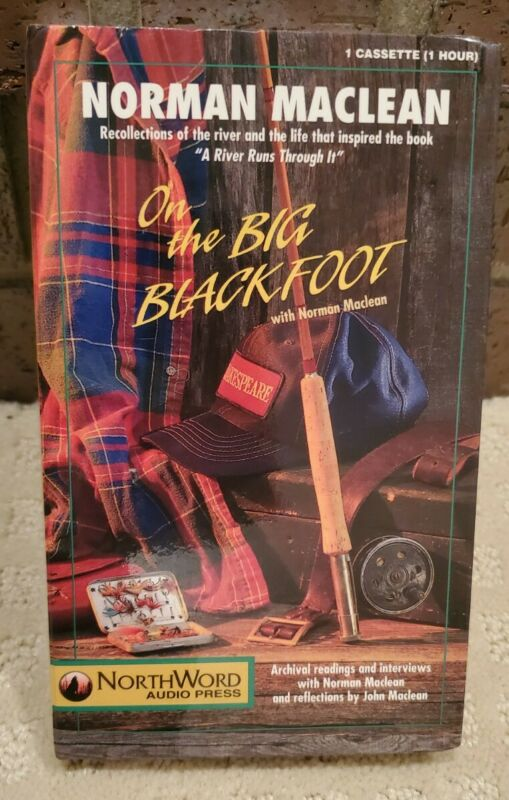 On the Big Blackfoot - Norman Maclean - Audiobook Cassette Tape