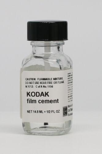 KODAK FILM SPLICING CEMENT 1/2 OZ. BOTTLE - NEW - FRESH