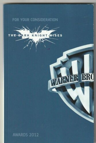 The Dark Knight Rises For Your Consideration screenplay