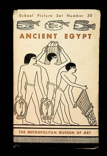 METROPOLITAN MUSEUM OF ART - ANCIENT EGYPT - SCHOOL PICTURE SET #20