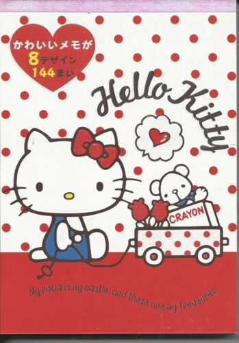 Sanrio Hello Kitty Notepad Extra Thick Wagon