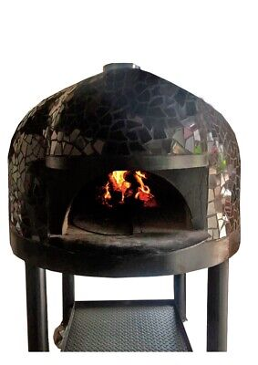 Comercial Handcrafted Wood And Gas Pizza Oven